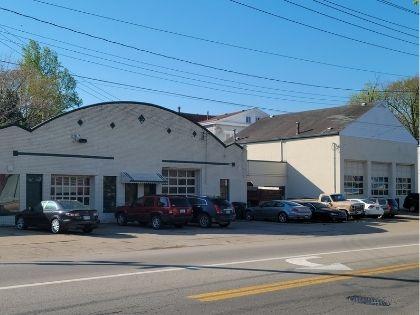 A large commercial auto shop